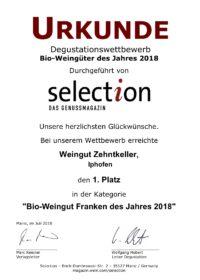 Auszeichnungen 2018